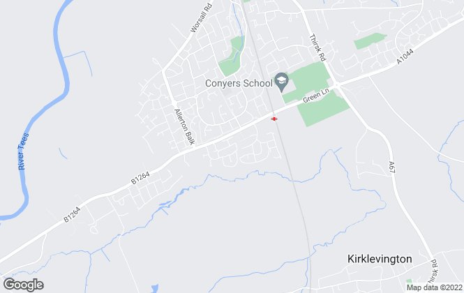Map for Bellway Homes (Durham)