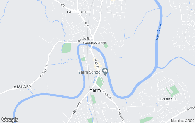 Map for Your Move , Yarm