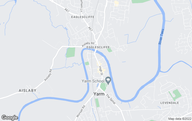 Map for RightHomes, Yarm
