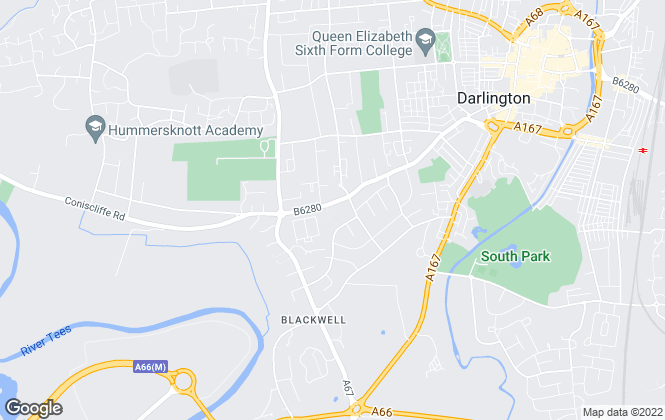 Map for Landlords 2, Darlington