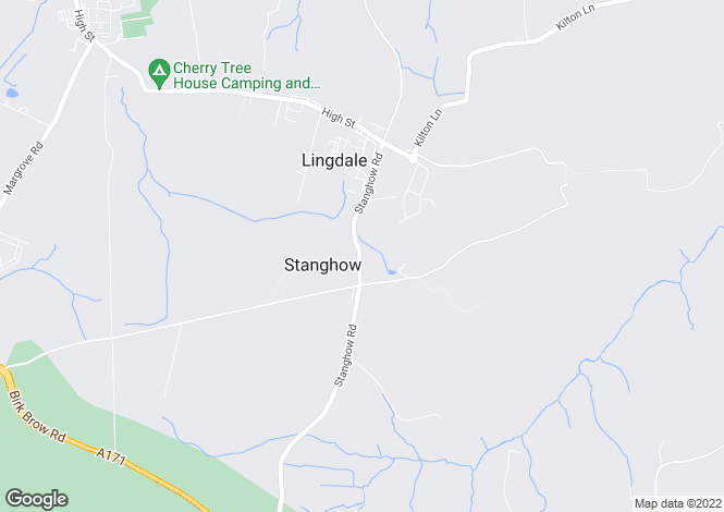 Map for Greenhedges, Stanghow Road, Stanghow