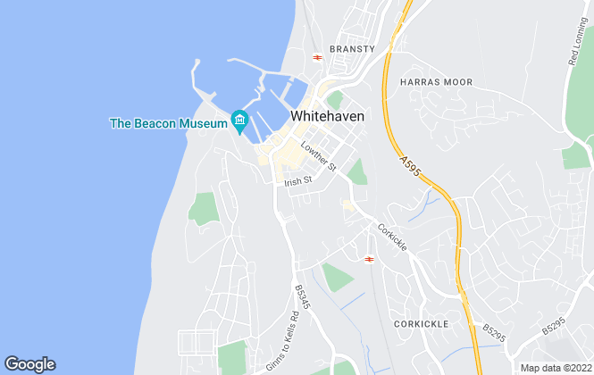 Map for Home Group - Cumbria, Home Group