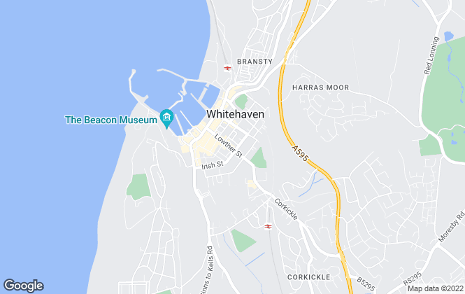 Map for Your Move , Whitehaven