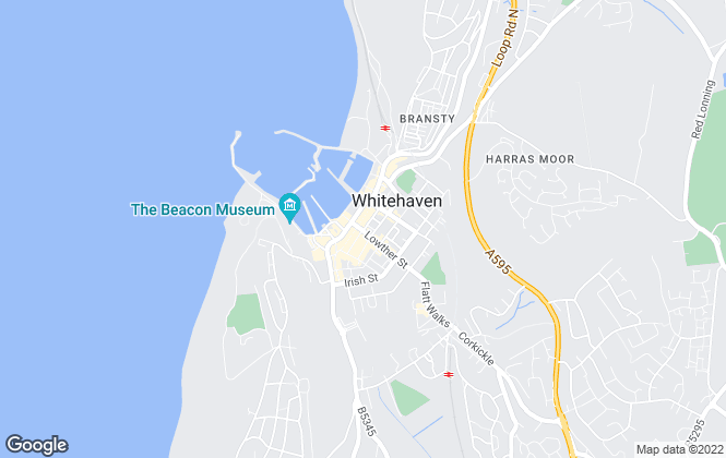 Map for Lillingtons Estate and Letting Agents, Whitehaven