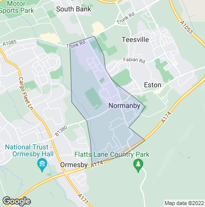 Map of property in Normanby