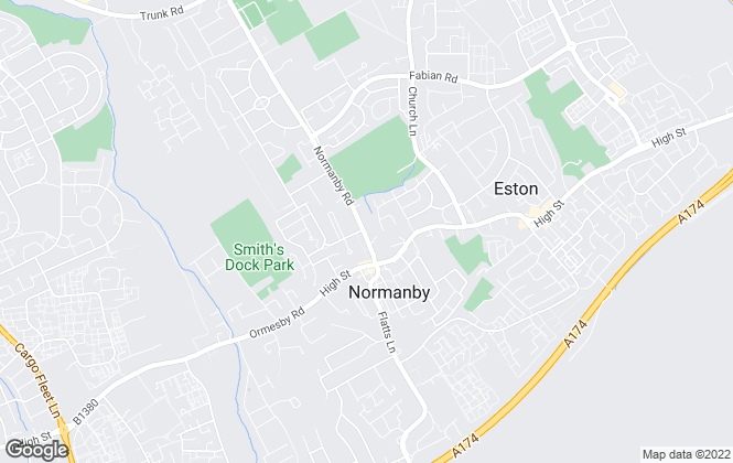 Map for YOUR MOVE, Normanby