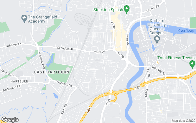 Map for Leinster Property Services Limited, Stockton-On -Tees