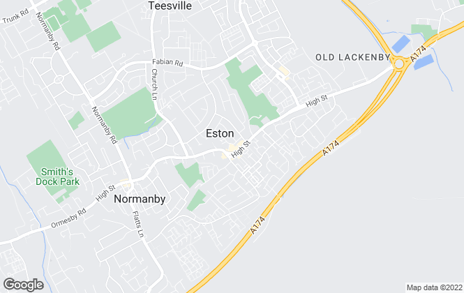 Map for Michael Poole, Eston