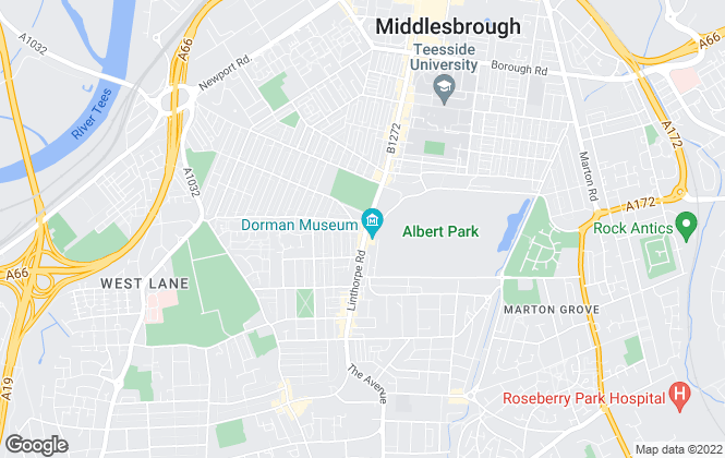 Map for Kings Sales & Letting Agents, Middlesborough