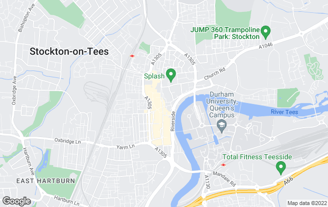 Map for Your Move , Stockton-On-Tees
