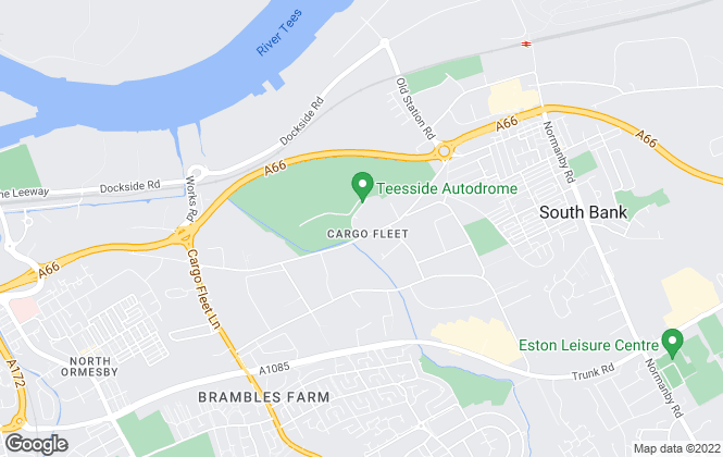 Map for Rent UK Property Services, Middlesbrough