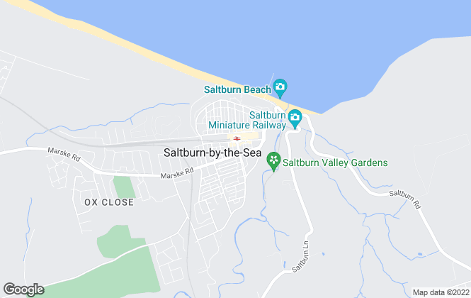 Map for Inglebys Estate Agents, Saltburn-By-The-Sea