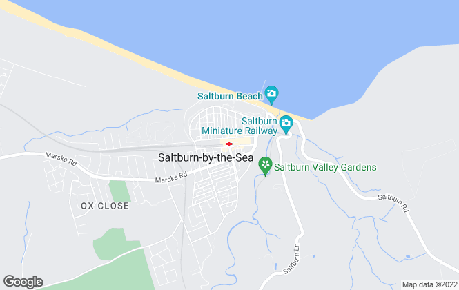 Map for Robson Carter Estate Agency, Saltburn-by-the-Sea