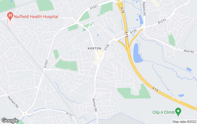 Map for Ron Greig (Norton & Wynyard Estates Ltd), Norton