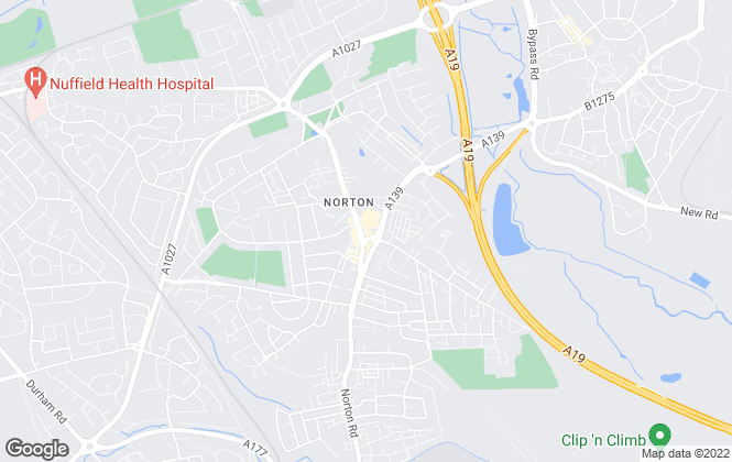 Map for Browns, Norton