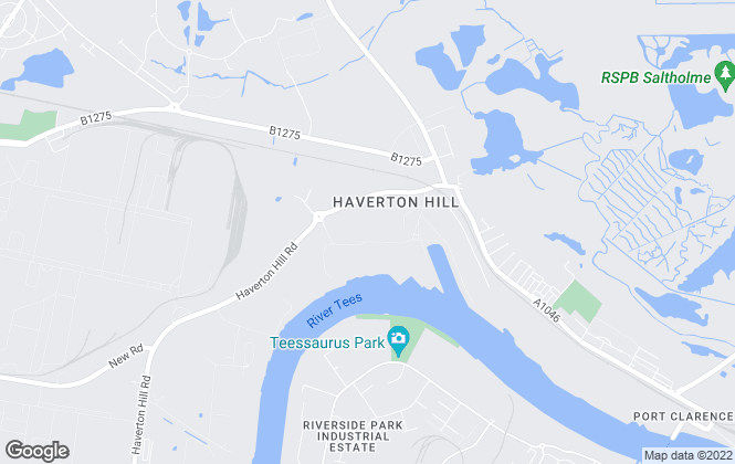 Map for Magnum Properties, Haverton Hill Road