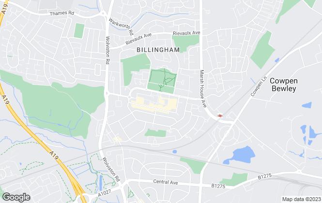 Map for Drummonds Estate Agents, BILLINGHAM