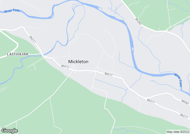 Map for Nook Farm, Mickleton, Barnard Castle, County Durham