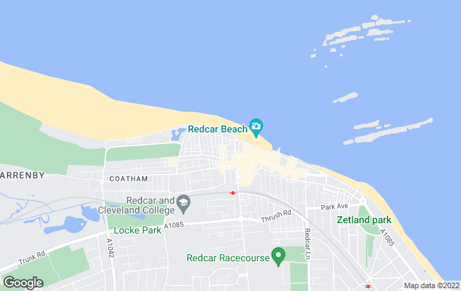 Map for Redcar Letting & Sales company ltd, Redcar