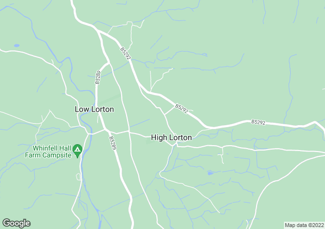 Map for High Lorton, Cockermouth, Cumbria, CA13
