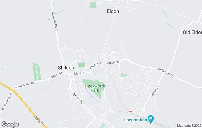 Map for Platinum Property Services NE Ltd , Shildon