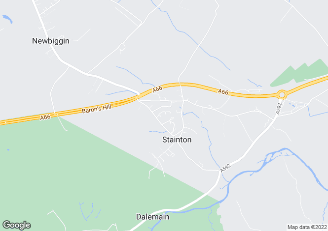 Map for Stainton, Penrith, Cumbria