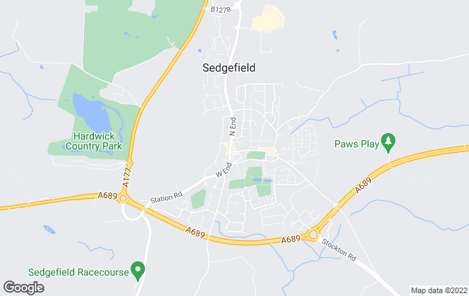 Map for Robinsons, Sedgefield - Lettings
