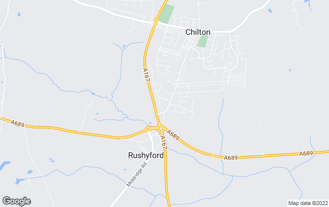 Map for Avant Homes North East