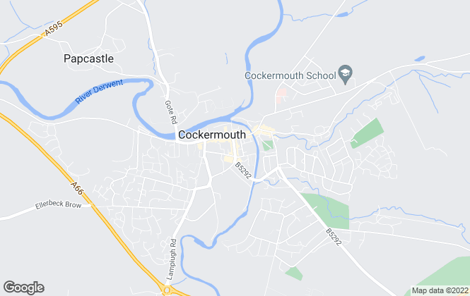Map for Smeatons, Cockermouth
