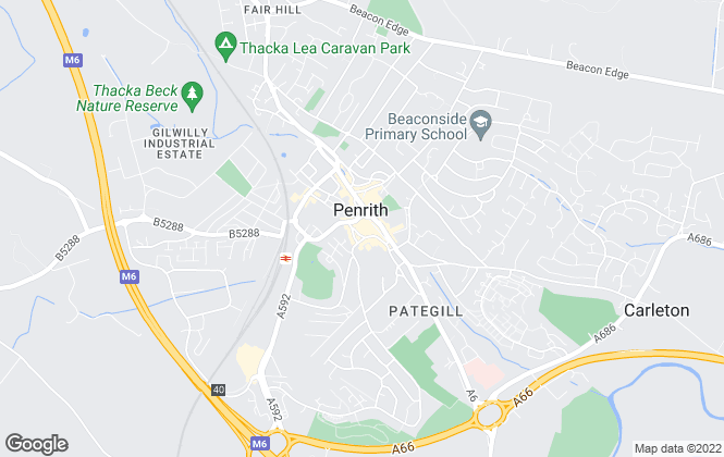Map for Wilkes-Green & Hill Ltd, Penrith Sales