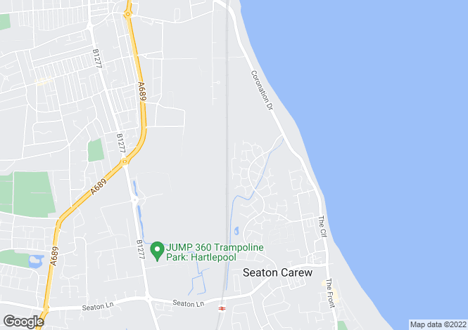 Map for Harvester Close, Seaton Carew, Hartlepool