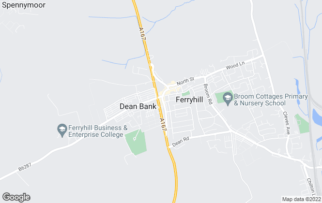 Map for Peter Clark Property Services, Ferry Hill, County Durham