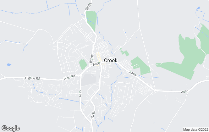 Map for Addisons Chartered Surveyors, Crook
