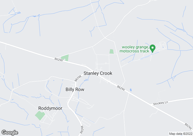 Map for Trelawny House High Road, Stanley, Crook, DL15
