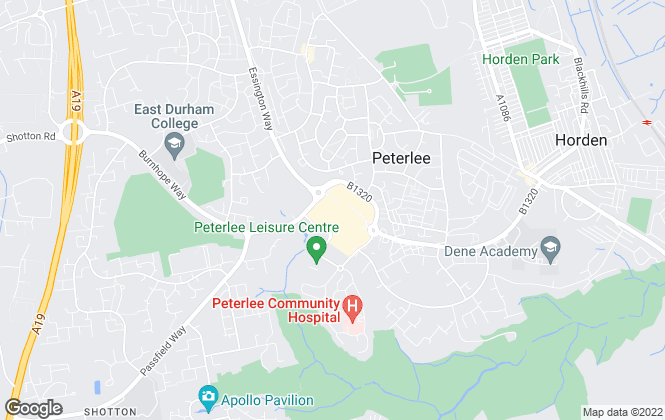 Map for Pattinson Estate Agents, Peterlee