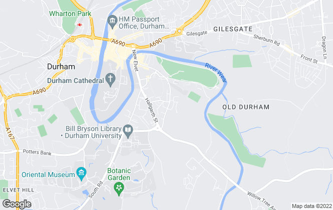 Map for Charles Church Durham