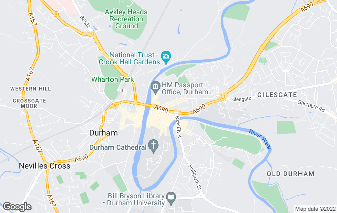 Map for Pattinson Estate Agents, Durham City