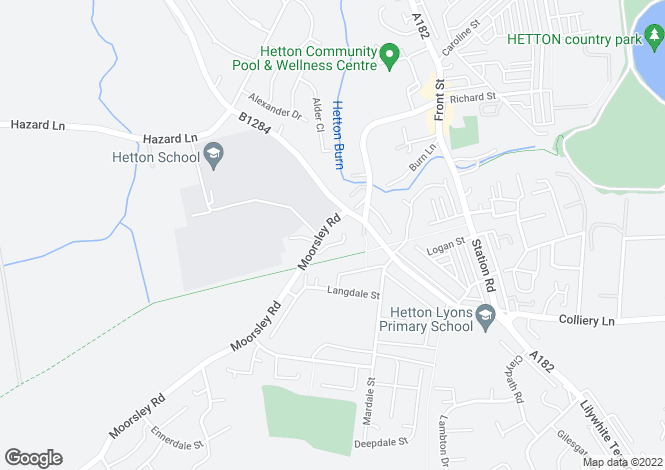 Map for Tenfields, Hetton Le Hole, Hetton Le Hole, Tyne & Wear