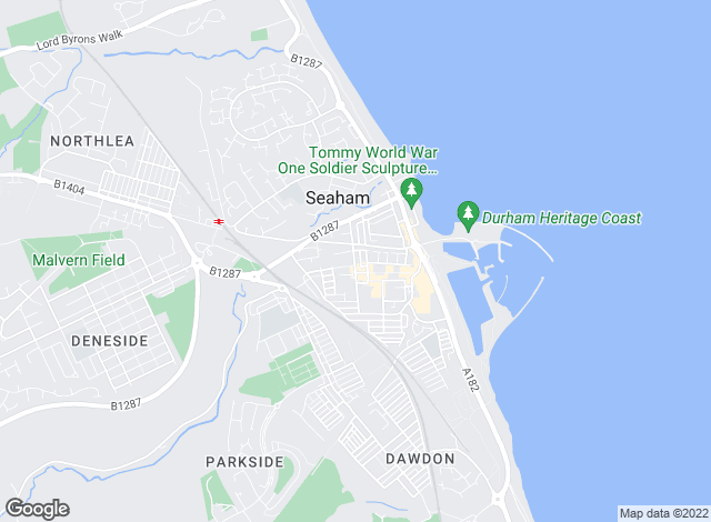 Map for Interlet Northeast Ltd, Seaham