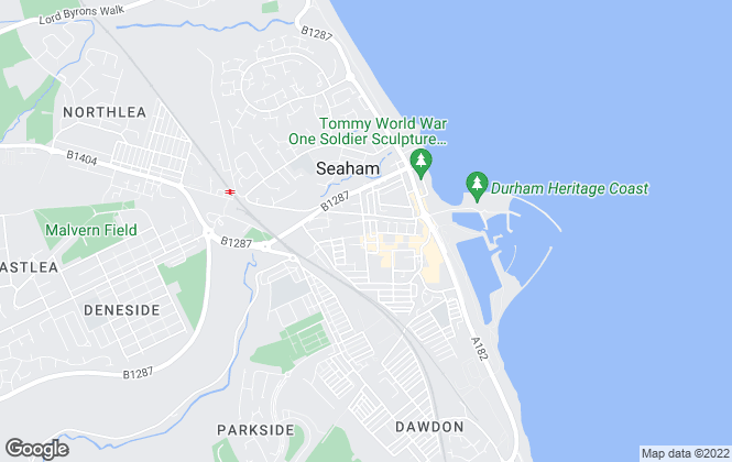 Map for Interlet Northeast Ltd, Seaham