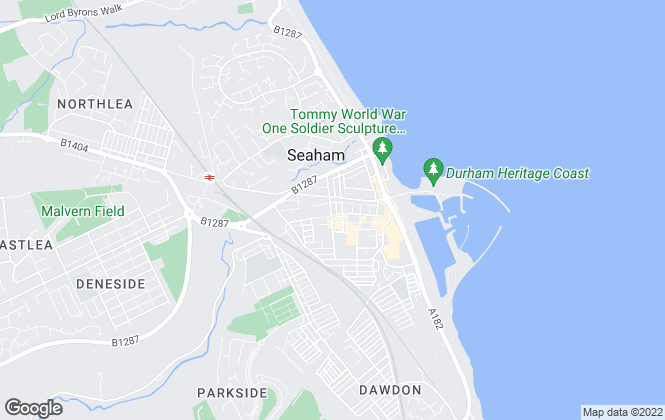Map for Castledene Sales & Lettings, Seaham