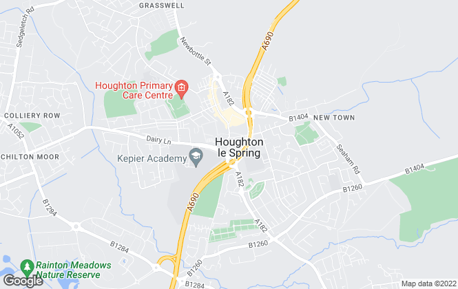 Map for YOUR MOVE Chris Stonock, Houghton Le Spring