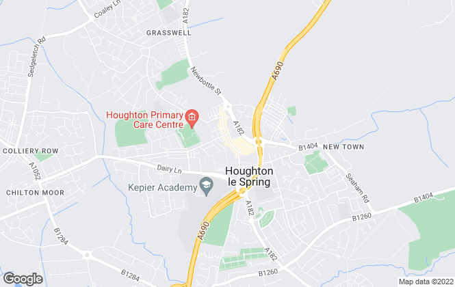Map for Pattinson Estate Agents, Houghton Le Spring