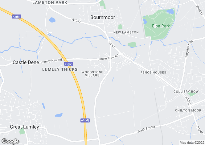 Map for Tantallon Court, Woodstone Village, Houghton Le Spring DH4