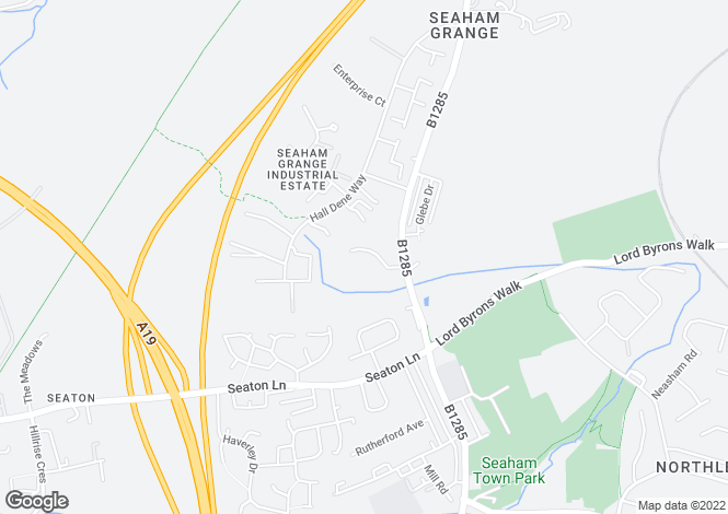 Map for Field House Farm, Seaham, Co Durham, SR7