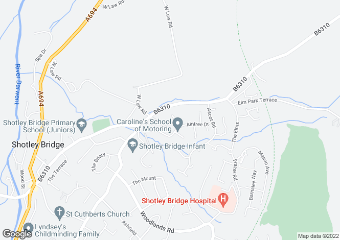 Map for Kempton Close,