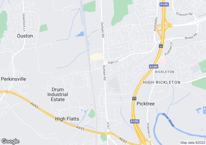 Map for Pelaw Grange Court, Chester Le Street DH3