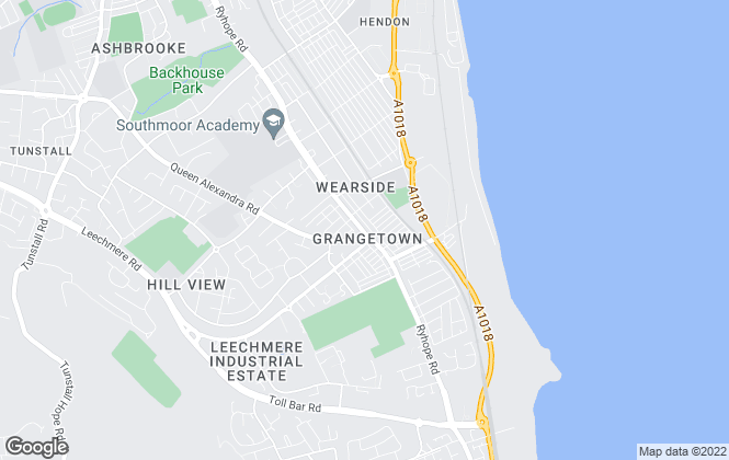 Map for Good Life Estate Agents, Sunderland