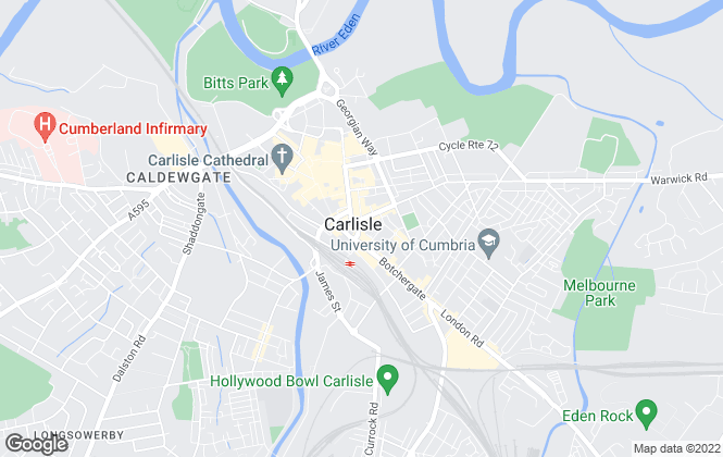 Map for Belvoir, Carlisle