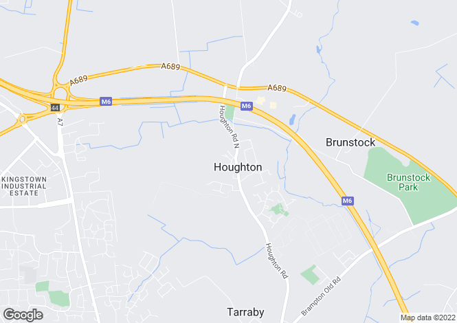Map for The Green, Houghton, Carlisle